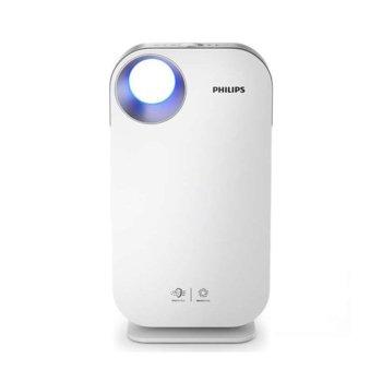 Пречиствател на въздух Philips AC4550/50, капацитет на филтриране 400m2/h, 99.97% филтриране на въздуха, 4 степени на скорост, AeraSense технология, бял image