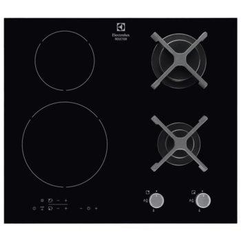 Плот за вграждане ELECTROLUX EGD6576NOK, 3700W, сензорен контрол. черен image