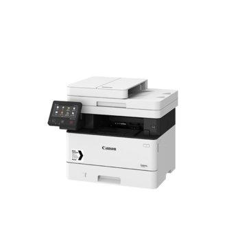 Мултифункционално лазерно устройство Canon i-SENSYS MF449x, монохромен, принтер/копир/скенер/факс, 600 x 600 dpi, 38стр./мин, USB, LAN, Wi-Fi, A4 image