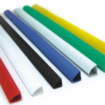 Шина за подвързване, размер 6 mm, от 2 до 25 листа, бяла, 100бр. в опаковка image