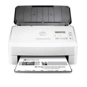Скенер ScanJet Enterprise Flow 7000 s3, 600dpi, A4, двустранно сканиране, ADF, USB image