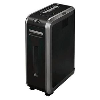 Шредер Fellowes Powershred 125Ci, до 20 листа А4, раздробява карти/хартия/CD / DVD дискове/ телчета/кламери, технологии SilentShred и SafeSense, кошче за отпадъци с обем 53 литра image
