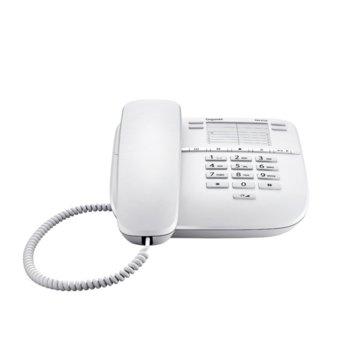 Стационарен Телефон Gigaset DA310, 1 линия, бял image