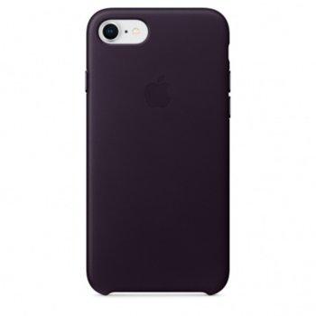 Apple iPhone 8/7 Leather Case Dark Aubergine product