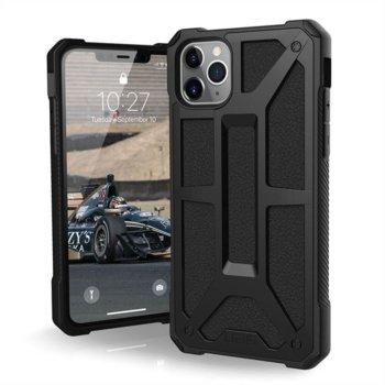 Калъф за Apple iPhone 11 Pro Max, хибриден, Urban Armor Monarch 111721114040, удароустойчив, черен image