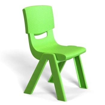 Детски стол RFG Chico, пластмасов, зелен image