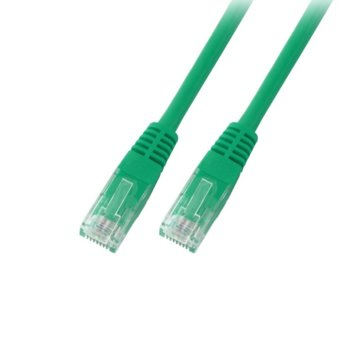 Пач кабел EFB Elektronik, UTP, Cat.6, 3m, зелен image