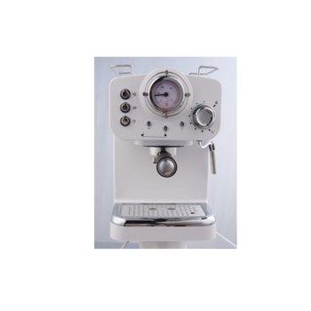 Ръчна еспресо кафемашина Arielli KM-501W, 15 bar, 1.25л резервоар, бяла image