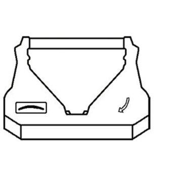 ЛЕНТА ЗА МАТРИЧЕН ПРИНТЕР PANASONIC KX-P 150/2120/2123/2124/2180/3123/3124/ SAMSUNG SP-2417 - Black Неоригинален image