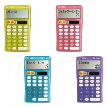 Калкулатор Citizen FC 100, 10-разряден LCD дисплей, настолен, основни математически действия, различни цветове image