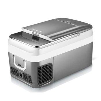 Хладилник Rohnson R 4026, клас А, 26 л. обем, преносим, сив image
