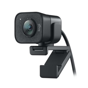 Уеб камера Logitech StreamCam, Full HD (1080p&60fps), 3.7 mm обектив, микрофон, за стрийминг, Autofocus, USB 3.1 Gen 1 Type-C, черна image