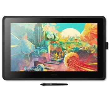 """Графичен таблет Wacom Cintiq 22 (черен), 21.5"""" (54.61 cm) Full HD IPS дисплей, 5080 lpi, 8192 ниво на натиск, писалка, 210 cd/m2 image"""