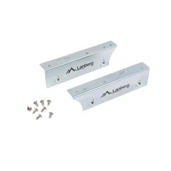 """Преходник (mounting bracket) Lanberg IF-SATA-10, от 3,5"""" SSD/HDD към 2.5"""" SSD/HDD, сив image"""