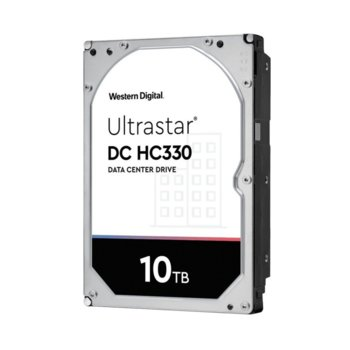 Твърд диск 10TB Western Digital Ultrastar DC HC330 (512e), SATA 6GB/s, 7200 rpm, 256MB кеш, 3.5 (8.89cm) image