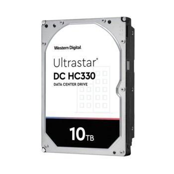 Твърд диск 10TB Western Digital Ultrastar DC HC330 (512e), SATA 6GB/s, 7200 rpm, 256MB кеш, 3.5 (8.89cm) image