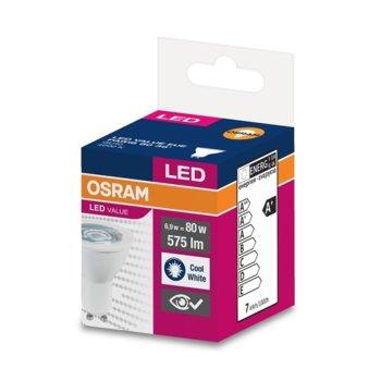 LED крушка Osram, GU10, 6.9W, 575 lm, 4000K image
