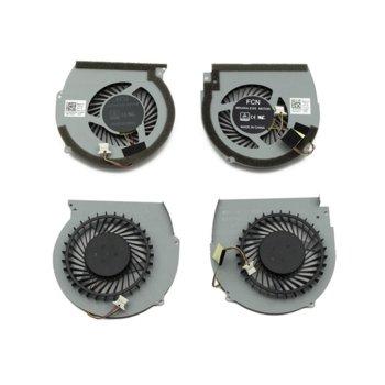 Вентилатор за DELL Inspiron 15 7566, 7567, 4pin, 5V 0.5A image