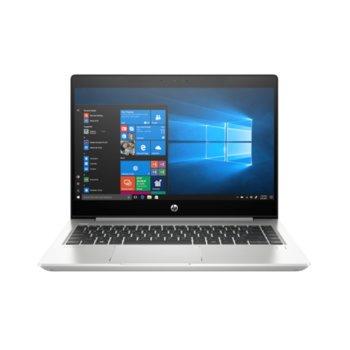 "Лаптоп HP ProBook 440 G6 (5PQ10EA)(сребрист), четириядрен Whiskey Lake Intel Core i5-8265U 1.6/3.9 GHz, 14""(35.56 cm) Full HD Anti-Glare IPS дисплей (HDMI), 8GB DDR4, 256GB SSD, USB-C 3.1 Gen 1, FreeDOS, 1.6 kg image"