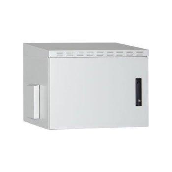 """Комуникационен шкаф Lande LN-SBO-IP5512U6045-LG, 19"""" (48.26 cm), 12U, 600 x 450mm, външен (IP55), бял image"""