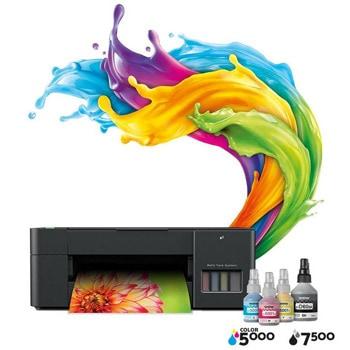 Мултифункционално мастиленоструйно устройство Brother DCP-T220, цветен принтер/скенер/копир, 1200x6000 dpi, 16стр/мин, USB, A4 image