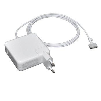 Захранване (заместител) за лаптопи Apple A1425/A1435/A1502/MC865/ME864/MF839/MD212/MD2123/MD662, 16.5V/3.65A, 60W, MagSafe2 жак image