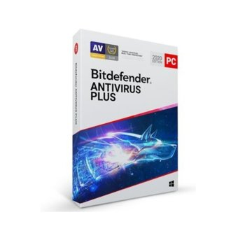Софтуер Bitdefender Antivirus Plus, за Windows, 5 потребителя, 2 години image
