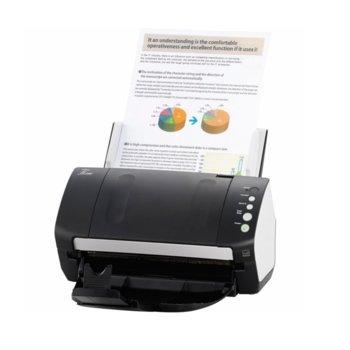 Скенер Fujitsu fi-7140, документен скенер, Duplex, до 40ppm, 600dpi, до A4, ADF, USB image