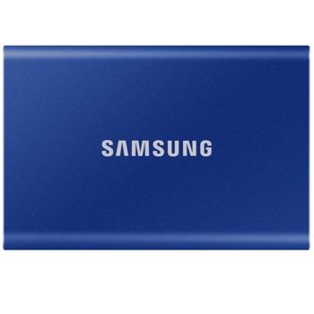 """Памет SSD 1TB, Samsung T7, USB 3.2, 2.5""""(6.35 cm), скорост на четене 1050 MB/s, скорост на запис 1000 MB/s image"""
