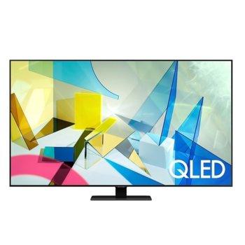 "Телевизор Samsung QE65Q80TATXXH, 65"" (165.1 cm) QLED HDR Smart TV, Ultra HD, DVB-T/C/S2(T2 Ready), Wi-Fi, LAN, Bluetooth, 4x HDMI, 2x USB image"