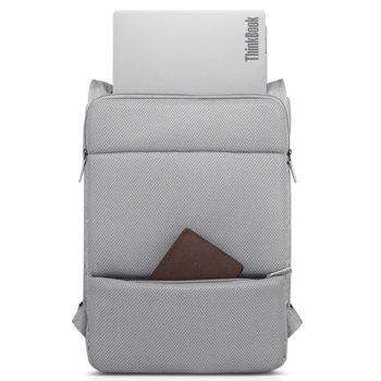 """Раница за лаптоп Lenovo Urban Backpack 4X40V26080 до 15.6""""(39.62cm), полиестер, сива image"""