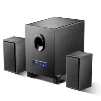 Аудио система Kisonli ТМ-5000, 2.1, 10W, Bluetooth функция, USB захранване, черен image