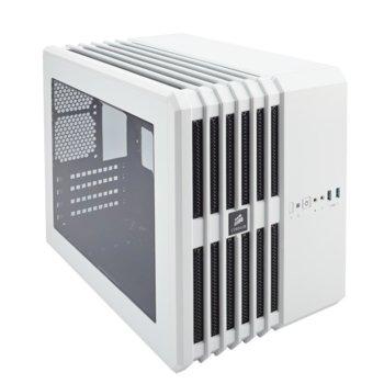 Кутия Corsair Carbide Series Air 240 Arctic, Mini-ITX/mATX, 2x USB 3.0, прозрачен капак, бял, без захранване, по поръчка image