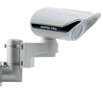 """Детектор за движение (PIR) Honeywell Xtralis PRO E-100, съншен, тип """"завеса"""", обхват 120x2.9m, режими основана зона, creep зона, IP66 image"""