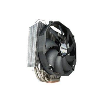 Охлаждане за процесор Gelid Solutions Antarctica CC-ANTARCTICA-01-A, съвместимост с Intel: 775/1155/1156/1366/1150/1151/2011 AMD: AM2/AM2+/AM3/AM3+/FM1/FM2, черен image