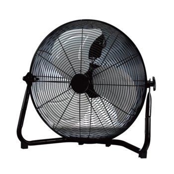 Настолен вентилатор Rohnson R-861, 3 скорости, 45 см. диаметър, 100W, черен image