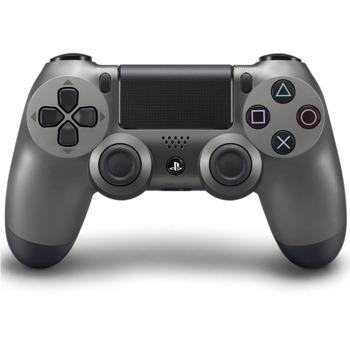 Геймпад Sony DualShock 4 V2 Steel Black, безжичен, за PS4, черен image