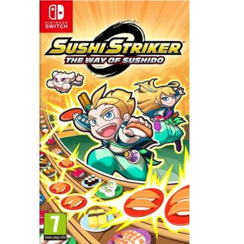 Игра за конзола Sushi Striker: The Way of Sushido, за Switch image