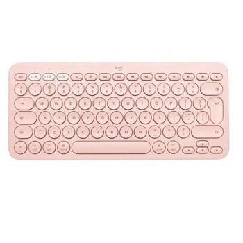 Клавиатура Logitech K380 for Mac, безжична, компактна, нисък профил, розова, Bluetooth, US English image