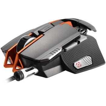 Мишка Cougar Gaming 700M Superior, оптична (12000dpi), гейминг, USB, сива image
