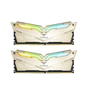 Памет 16GB (2x8GB) DDR4 3466 MHz, TeamGroup Night Hawk Legend, TF7D416G3466HC16CDC01, 1.35V image
