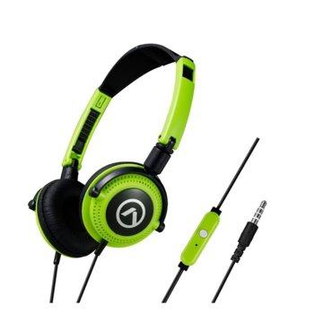 Слушалки Amplify Symphony AM2005 зелени с черно product