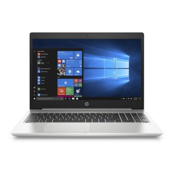"Лаптоп HP ProBook 450 G7 (2D349EA)(сребрист), четириядрен Comet Lake Intel Core i7-10510U 1.8/4.9 GHz, 15.6"" (39.62 cm) Full HD IPS Anti-Glare Display & GF MX20 2GB, (HDMI), 8GB DDR4, 512GB SSD & 1TB HDD, 1x USB 3.1 Type C, Free DOS  image"