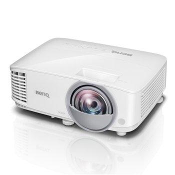 Проектор BenQ MW809ST, DLP, 3D Ready, WXGA (1280x800), 12,000:1, 3000 lm, 1x HDMI, 2x VGA, 1x USB A, 1x USB mini B image