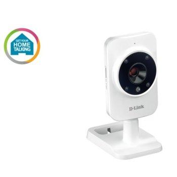 IP камера D-Link DCS-935LH, насочена, 720p@30fps, 2.38mm обектив, H.264/JPEG, безжична, микрофон image