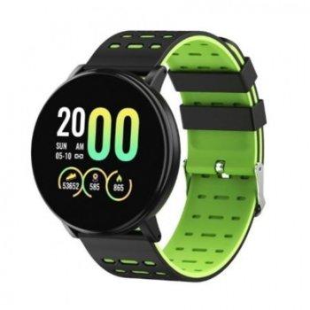 """Смарт часовник D19, 1.3"""", обхват до 10 метра, анти-изгубване / кражба, Bluetooth, черен image"""