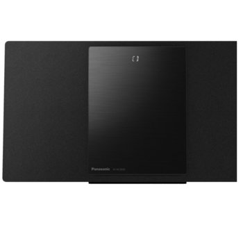 Аудио система Panasonic SC-HC2020EGK, 2.0, 40W RMS, Микро Hi-Fi система, Bluetooth, Wi-Fi, USB, AUX, черна image