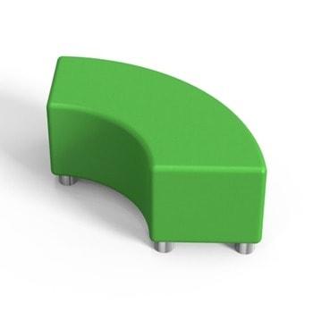 Табуретка RFG Rainbow, еко кожа, MDF основа, зелена image