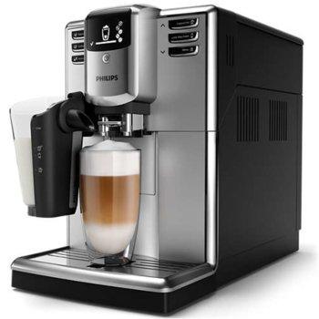Автоматична еспресо машина Philips EP5333/10, 6 напитки, кафемелачка, сребриста image