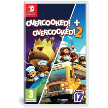Игра за конзола Οvercooked! + Overcooked! 2 - Double Pack, за Nintendo Switch image